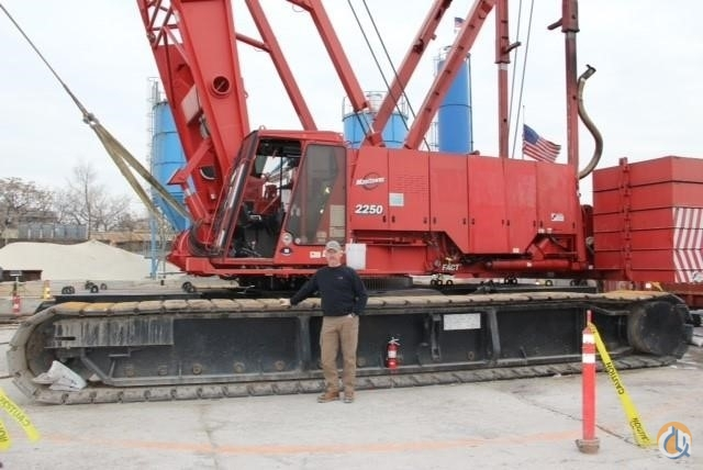 Manitowoc 2250 Crane for Sale or Rent in Lexington South Carolina on CraneNetworkcom