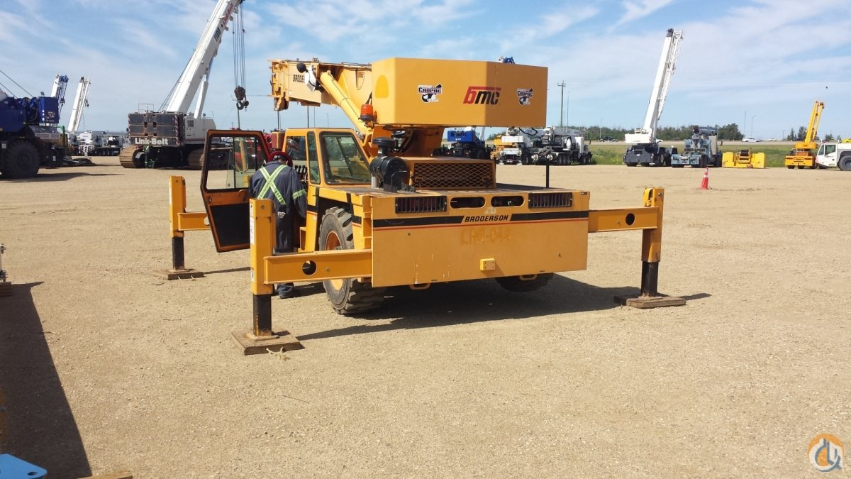 2012 BRODERSON IC-250-3C Crane for Sale or Rent in Oakville Ontario on CraneNetwork.com