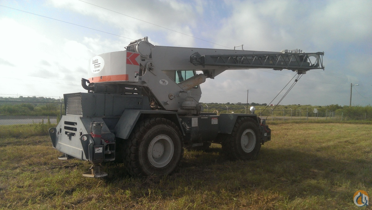Lorain Rough Terrain Crane : Sold lorain lrt e rough terrain crane for in