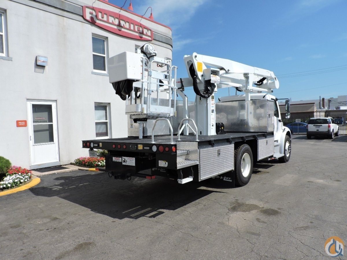 Dur-A-Lift DPM2-52 Bucket Truck 2017 Freightliner M2-106 non-CDL Crane for Sale or Rent in Lyons Illinois on CraneNetwork.com