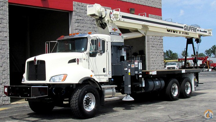 45 Ton Terex with 110 Working Height on Brand New Kenworth Crane for Sale in Cicero Illinois on CraneNetworkcom