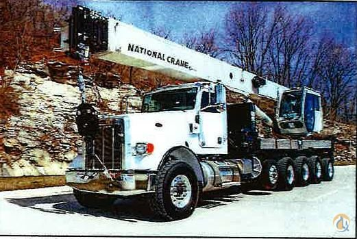 2019 National NBT45-142 Mounted on a Peterbilt 367 Crane for Sale in Kansas City Missouri on CraneNetwork.com