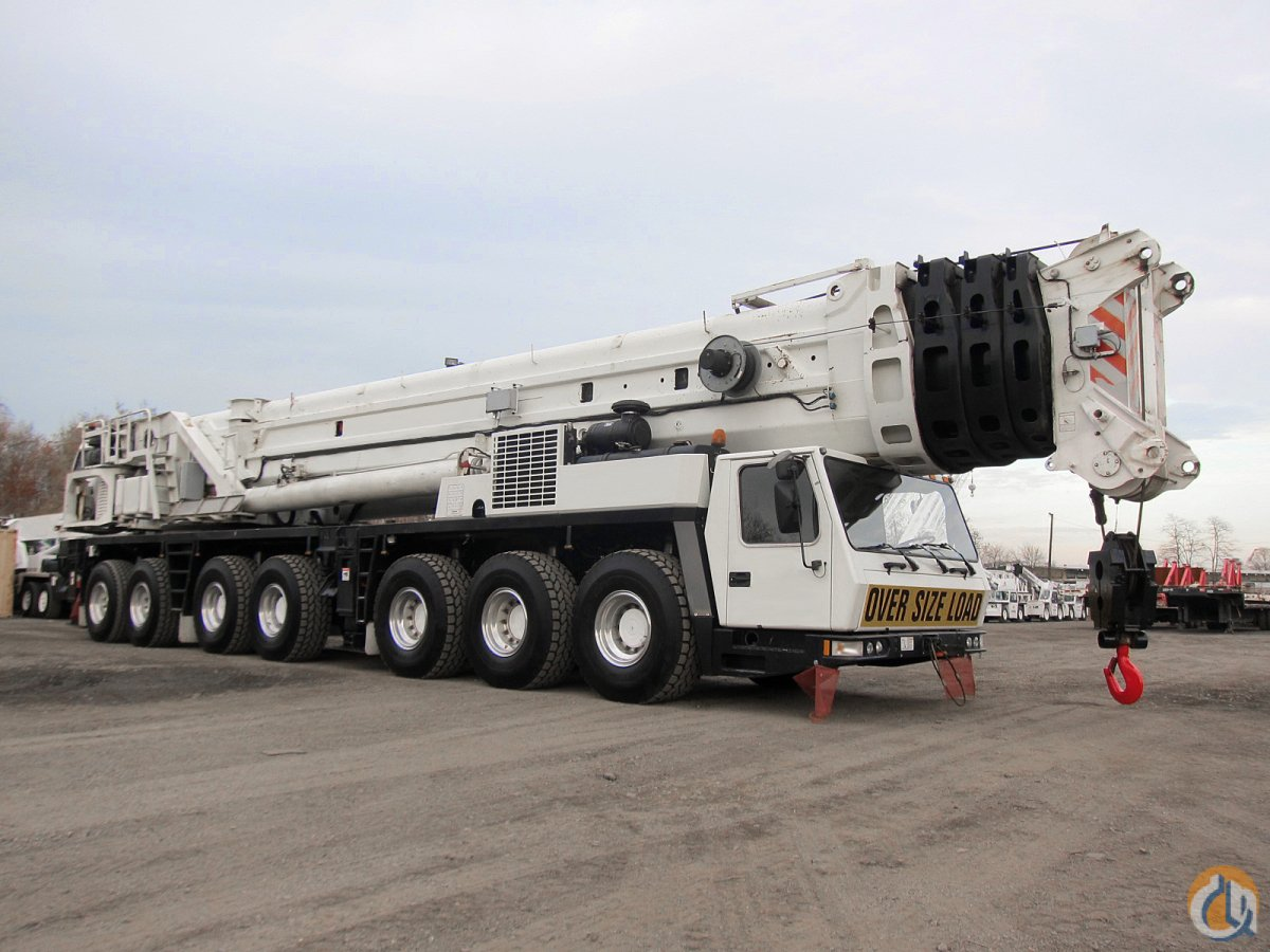 GROVE GMK7550 550-TON ALL TERRAIN CRANE Crane for Sale in New York New York on CraneNetwork.com