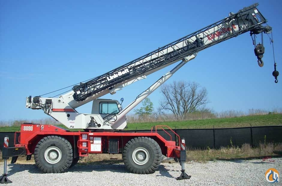 Link-Belt RTC-8090 Crane for Sale in Owensboro Kentucky on CraneNetworkcom