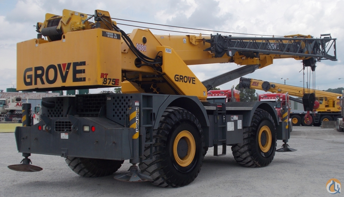 Grove RT875E For Sale Crane for Sale in Nitro West Virginia on CraneNetwork.com