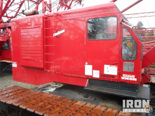 Sold 1981 Manitowoc 3900W-II 140 Ton Lattice-Boom Crawler Crane Crane for  in Rochester Washington on CraneNetwork.com