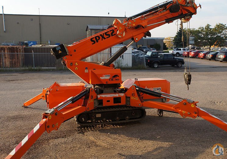 Jekko 527 with Hydraulic Jib Crane for Sale in Ayr Ontario on CraneNetwork.com