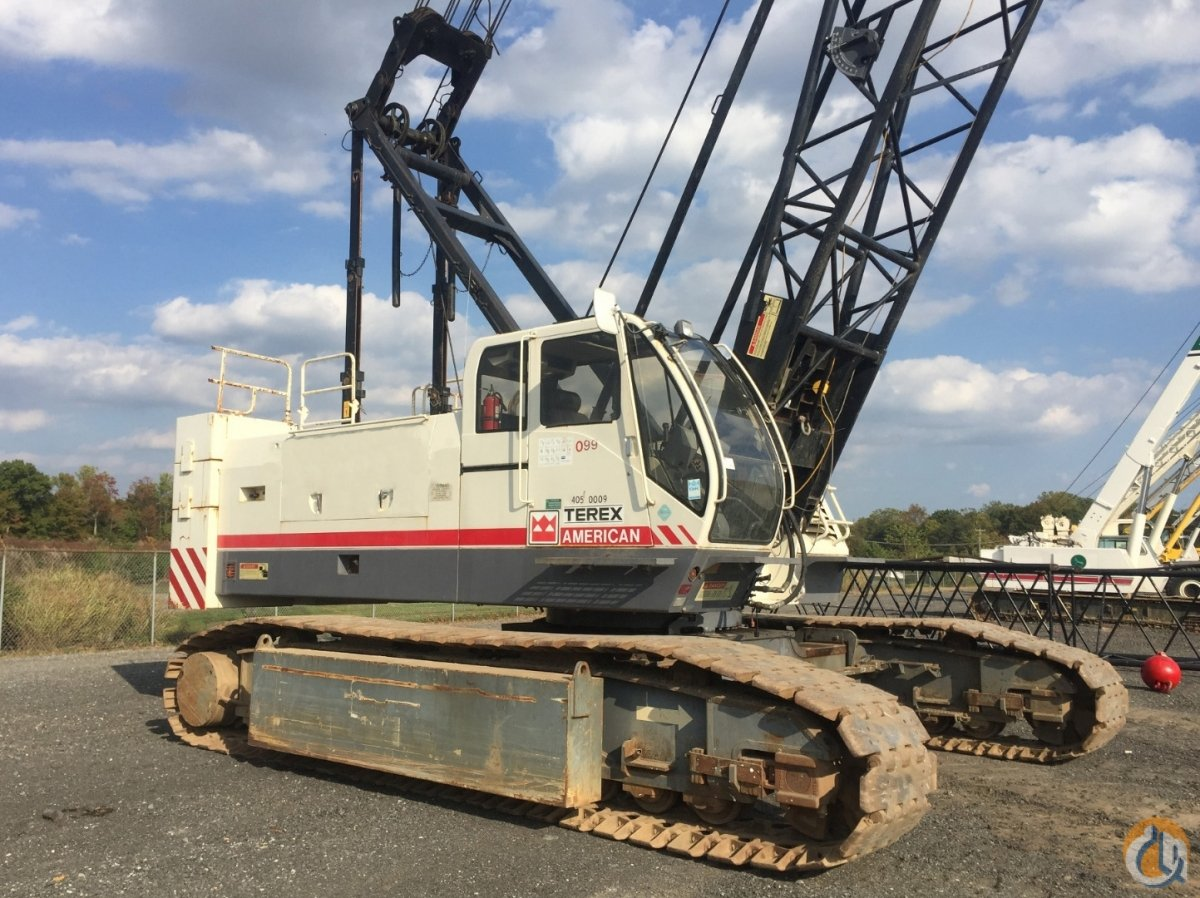 Terex HC110 Crawler Lattice Boom Cranes Crane for Sale 2007 TEREX HC-110 in Savannah  Georgia  United States 218138 CraneNetwork