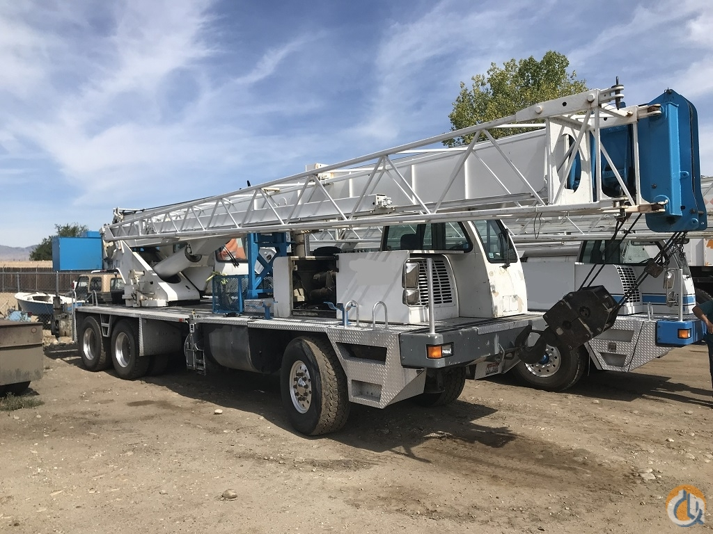 2001 Terex T340 Hydraulic Truck Crane Crane for Sale in Boise Idaho on CraneNetwork.com