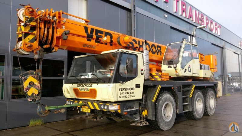 Grove GMK3050-1 Crane for Sale in Sassenheim Zuid-Holland on CraneNetwork.com