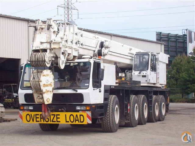 1995 KRUPP KMK 5175 175-TON ALL TERRAIN CRANE Crane for Sale in New York New York on CraneNetworkcom