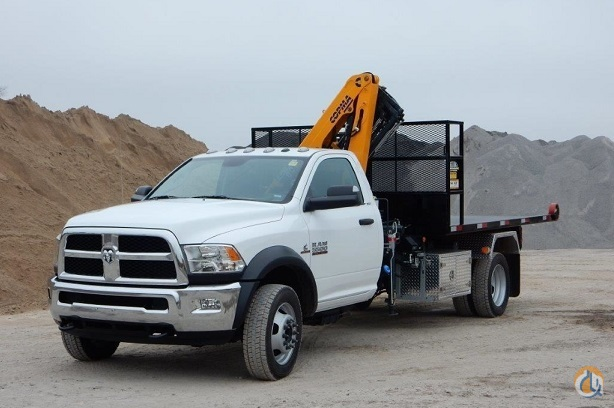 2014 Dodge Ram 5500 Kargo King Roll Off System with Copma Crane Crane for Sale in Toronto Ontario on CraneNetwork.com