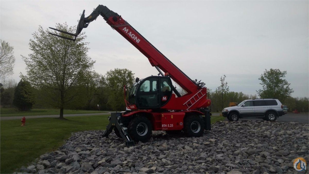 Magni RTH 525 SMART Crane for Sale in Syracuse New York on CraneNetworkcom