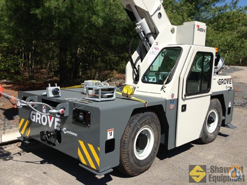 2013 Grove YB4409-2 Crane for Sale in Easton Massachusetts on CraneNetworkcom