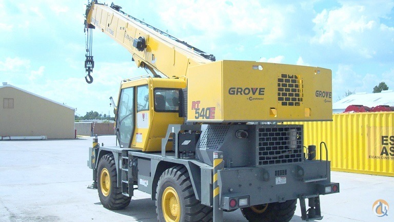 2014 GROVE RT540E Crane for Sale in Houston Texas on CraneNetwork.com