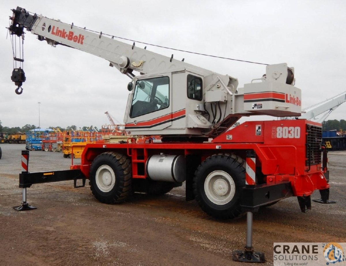 2009 Link-Belt RTC8030 Crane for Sale in Savannah Georgia on CraneNetwork.com