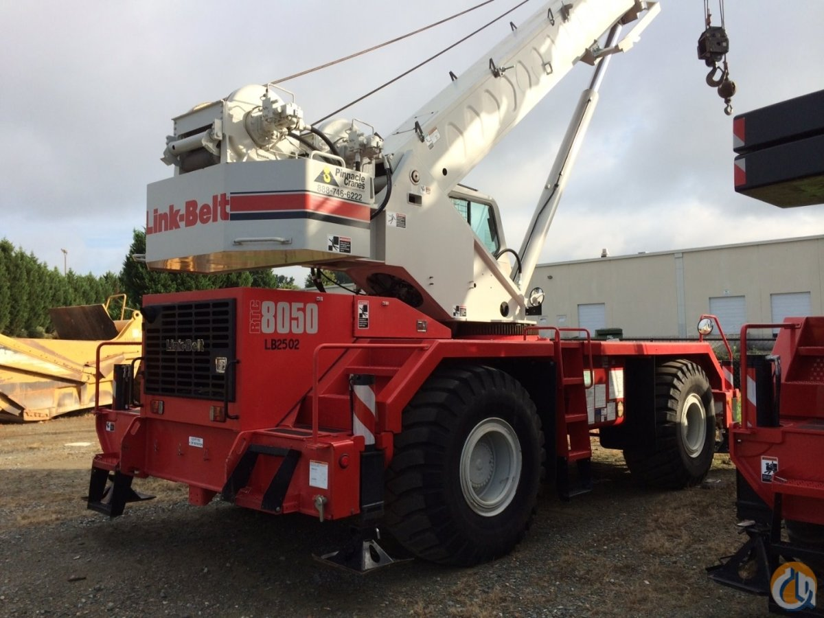 2011 Linkbelt RTC-8050 RT Crane for Sale in West Columbia South Carolina on CraneNetwork.com
