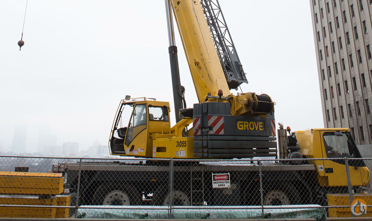 2005 GROVE GMK3055 Crane for Sale in Stamford Connecticut on CraneNetwork.com