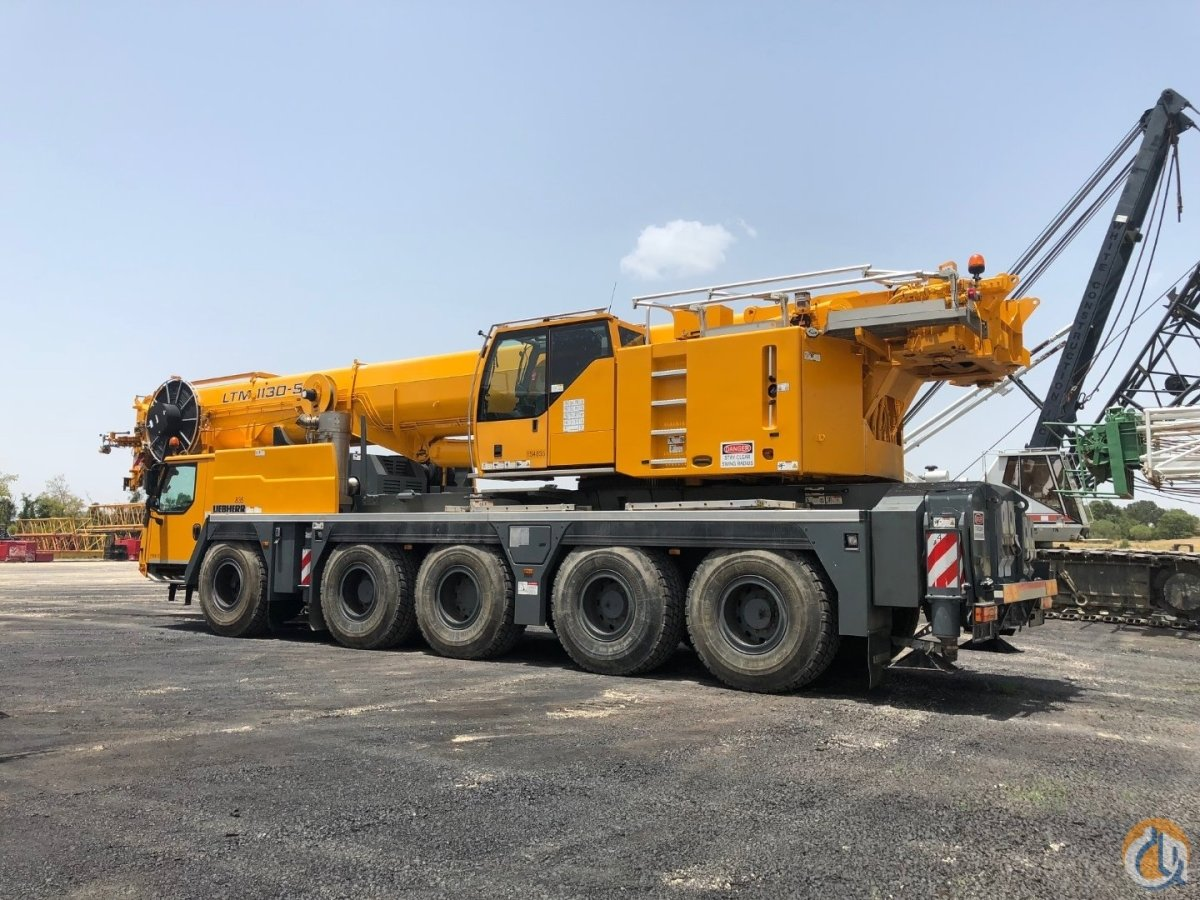 2013 Liebherr LTM1130-5.1 For Sale Low Hours Crane for Sale or Rent in Burleson Texas on CraneNetwork.com