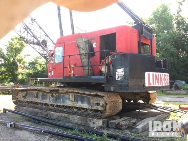 Link-Belt LS-418A Lattice-Boom Crawler Crane Crane for Sale in Hebron Kentucky on CraneNetworkcom