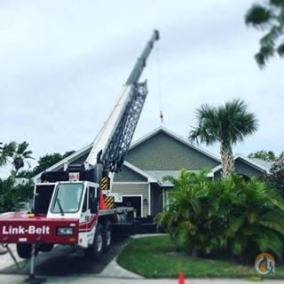 1999 Link-Belt HTC8670 75 Ton Crane truck Crane for Sale in Clearwater Florida on CraneNetwork.com