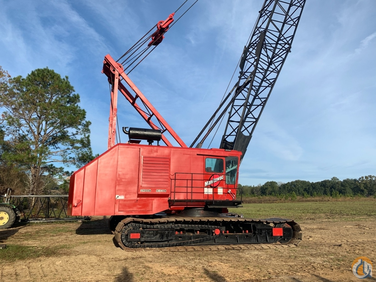 1971 Manitowoc 3900WSII VICON 140 Ton Lattice Boom Crawler Remanned in 2006 CranesList ID 375 Crane for Sale on CraneNetwork.com