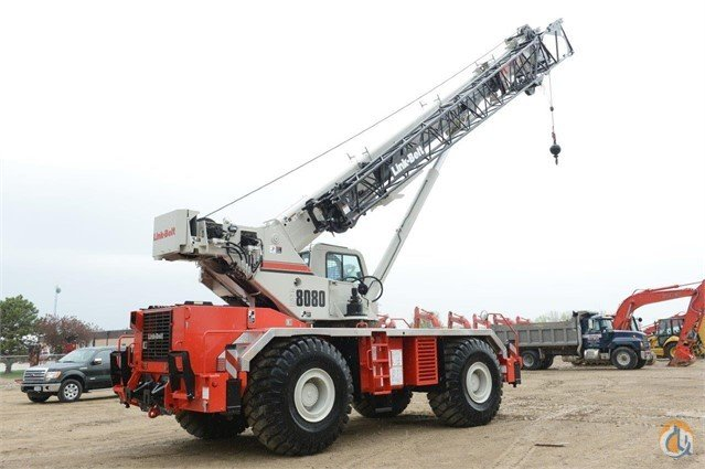 2015 LINK-BELT RTC-8080 SII Crane for Sale or Rent in Davenport Iowa on CraneNetwork.com