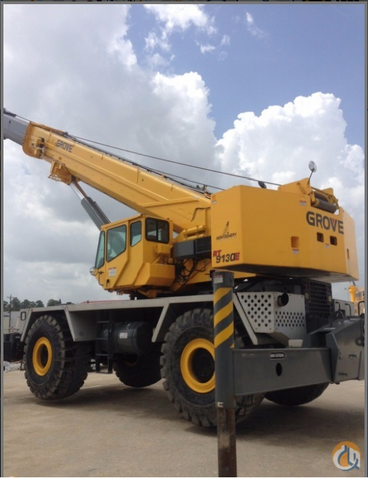 RT9130E Crane for Sale or Rent in Grapevine Texas on CraneNetwork.com