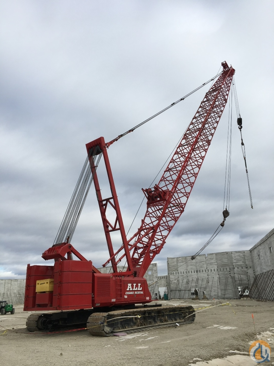 Manitowoc 888 For Sale Crane for Sale in Chicago Illinois on  CraneNetwork.com