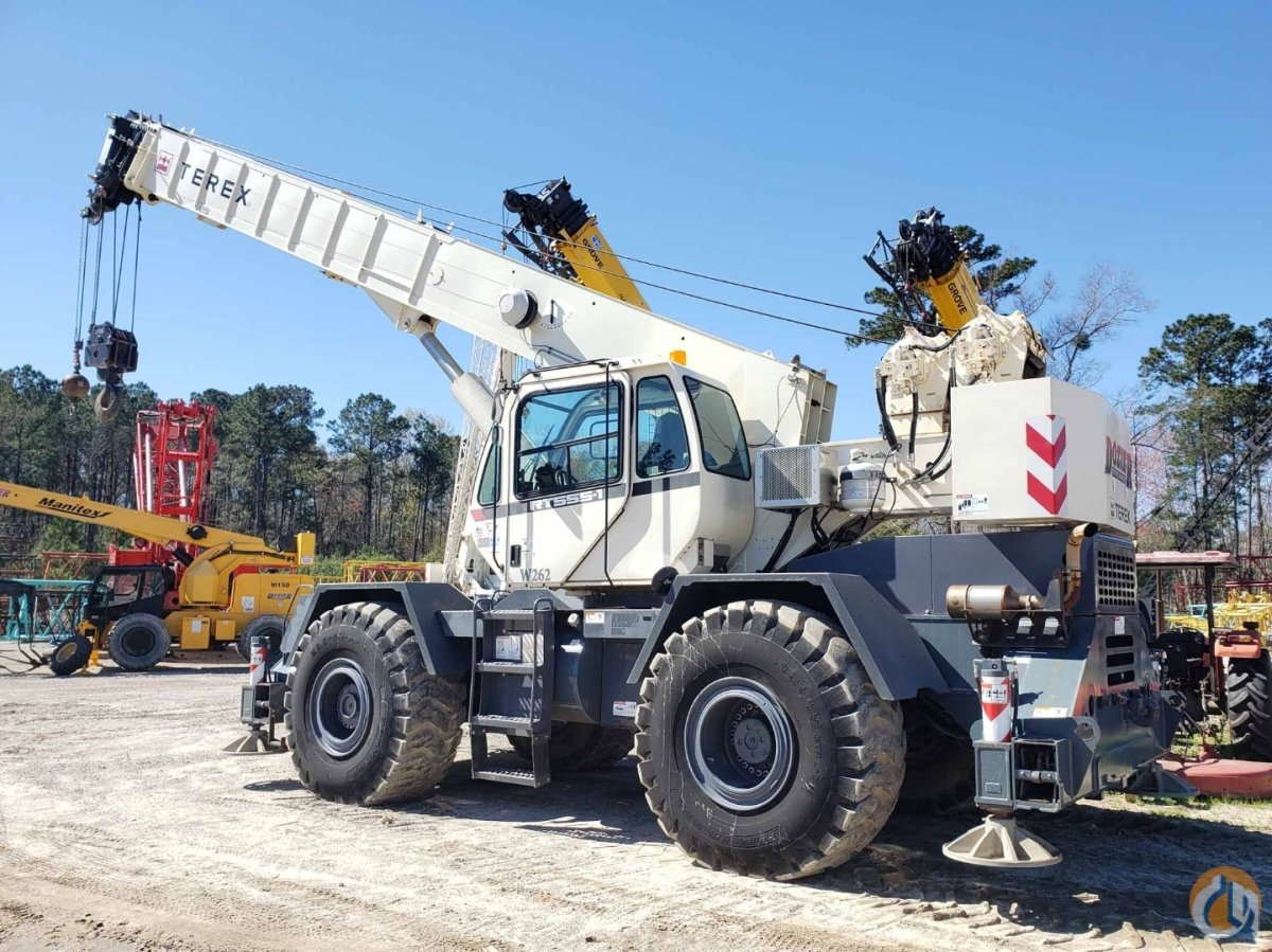 2013 TEREX RT-555 Crane for Sale or Rent in Kingsport Tennessee on CraneNetwork.com