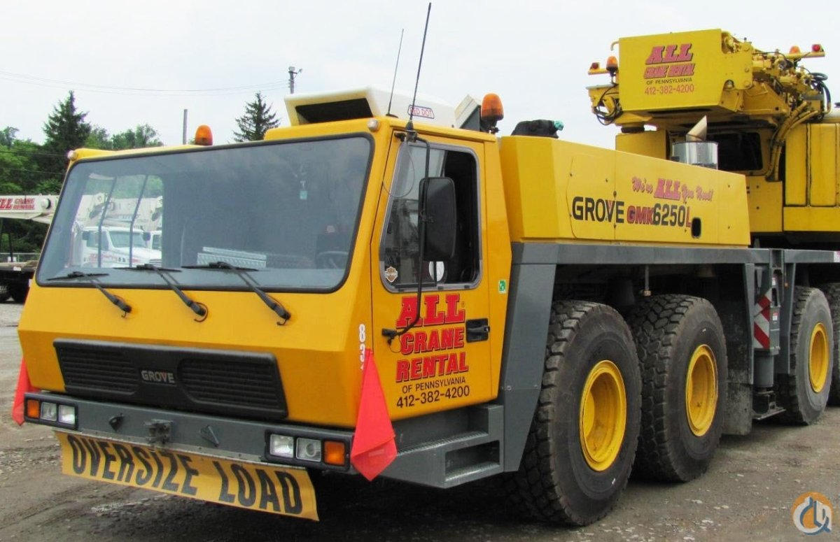 Grove GMK6250L For Sale Crane for Sale in Nitro West Virginia on CraneNetwork.com