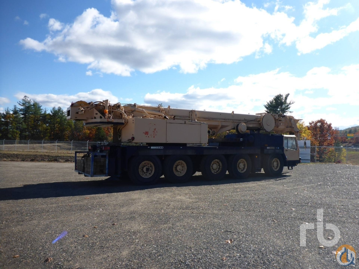 Sold 1994 LIEBHERR LTM1120N-1 100 Ton 10x8x10 All Terrain Crane Crane for  in Manchester New Hampshire on CraneNetworkcom