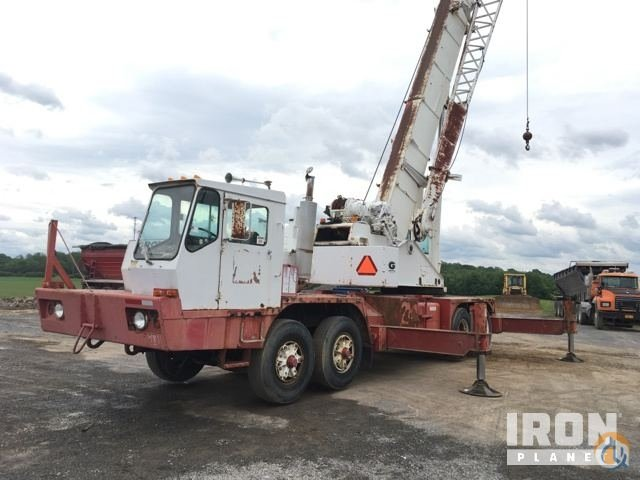 Sold 1981 Grove 8435G Hydraulic Truck Crane Crane for  in Potsdam New York on CraneNetwork.com