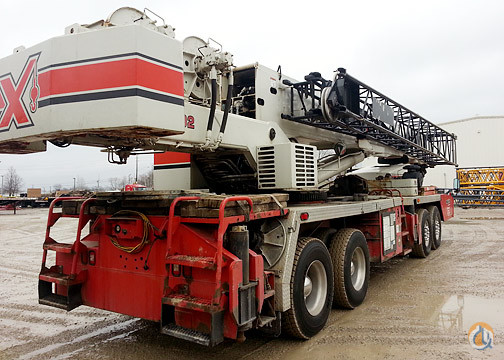 8392 Link-Belt HTC8650 Crane for Sale in Indianapolis Indiana on CraneNetwork.com
