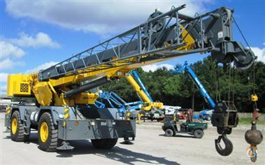 2012 GROVE RT600E Crane for Sale in St. Augustine Florida on CraneNetwork.com