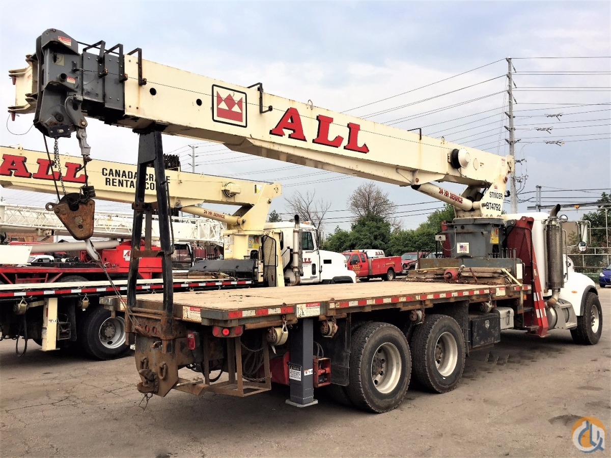 2006 Terex BT4792 Crane for Sale in Hamilton Ontario on CraneNetworkcom