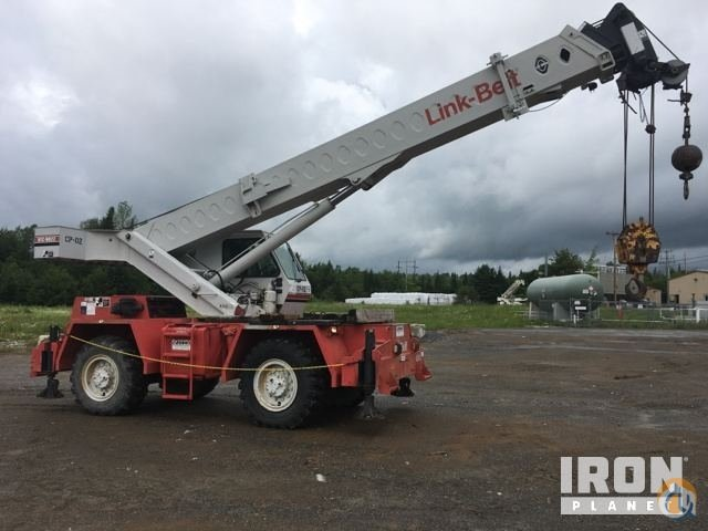 Sold Link-Belt RTC-8022 Rough Terrain Crane Crane for  in Athens Maine on CraneNetwork.com
