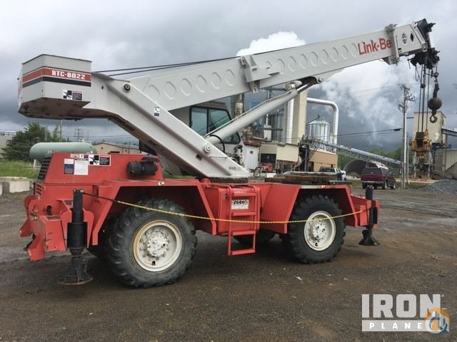 Sold Link-Belt RTC-8022 Rough Terrain Crane Crane for  in Athens Maine on CraneNetworkcom