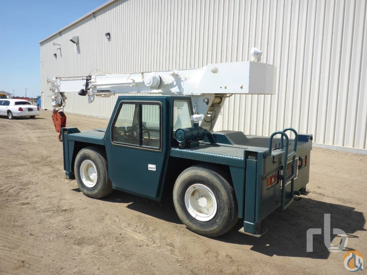 Sold 1998 TEREX D85I 85 Ton 4x4x4 Carry Deck Crane Crane for  in Saskatoon Saskatchewan on CraneNetworkcom
