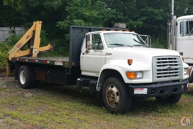 1998 FORD F800 IMT 780 KNUCKLEBOOM 4 TON CRANE TRUCK Crane for Sale in Hatfield Pennsylvania on CraneNetwork.com