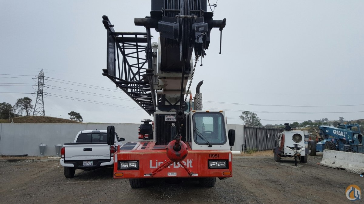 Fully Equipped 1999 Link-Belt Telescopic Truck Crane Crane for Sale in Concord California on CraneNetworkcom