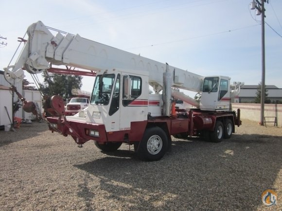 1989 Link-Belt HTC835 35 Ton Hydraulic Truck Crane CBJ606 Crane for Sale on CraneNetworkcom