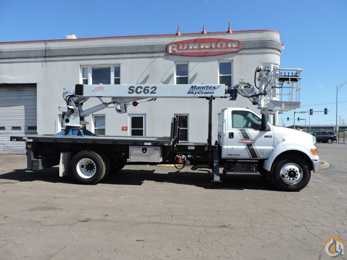 Manitex SC-62 on 2015 F750 Crane for Sale in Lyons Illinois on CraneNetwork.com
