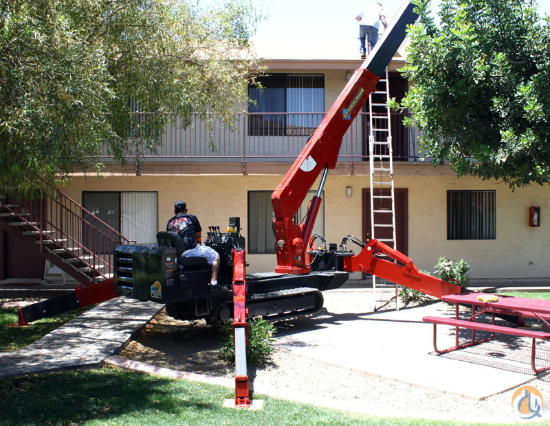 SPYDERCRANE URW547 Crane for Sale or Rent in Phoenix Arizona on CraneNetwork.com