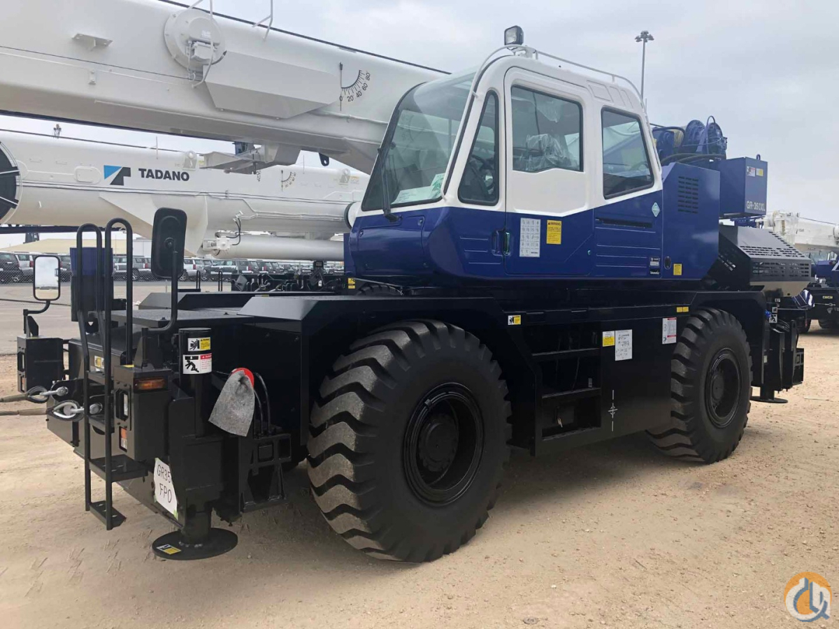 2020 TADANO GR-350XL Crane for Sale or Rent on CraneNetwork.com