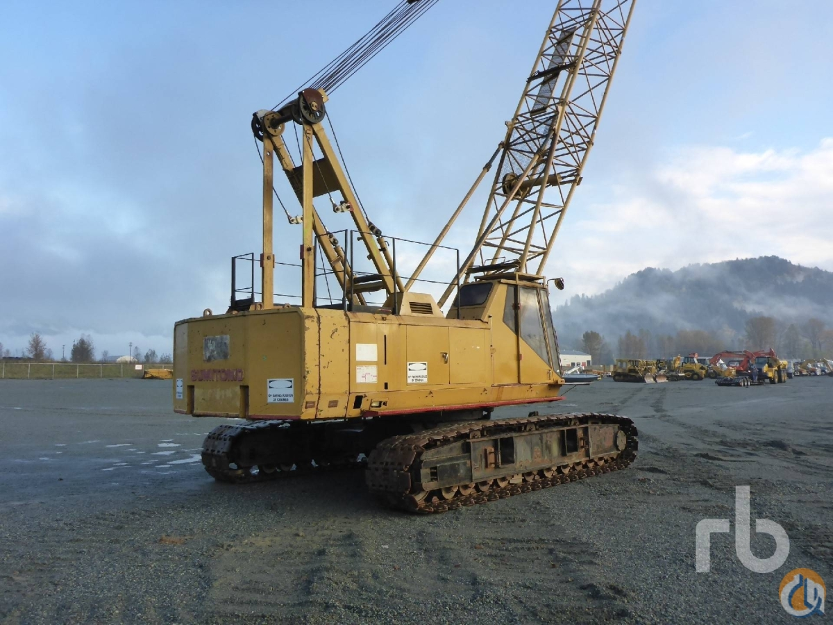 Sold LINK-BELT LS138RH Crane for  in Chilliwack British Columbia on CraneNetworkcom
