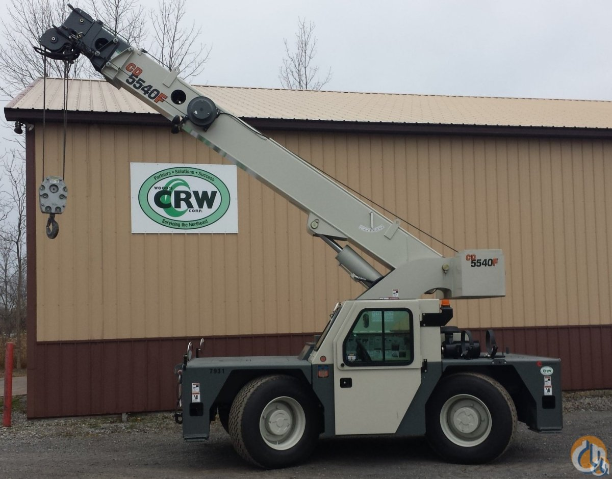 2014 Shuttlelift 5540F Crane for Sale in Central Square New York on CraneNetworkcom