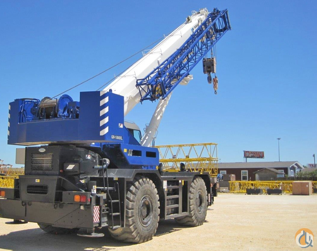 2014 TADANO GR-1000XL2 100 Ton Crane for Sale or Rent in Houston Texas on CraneNetwork.com