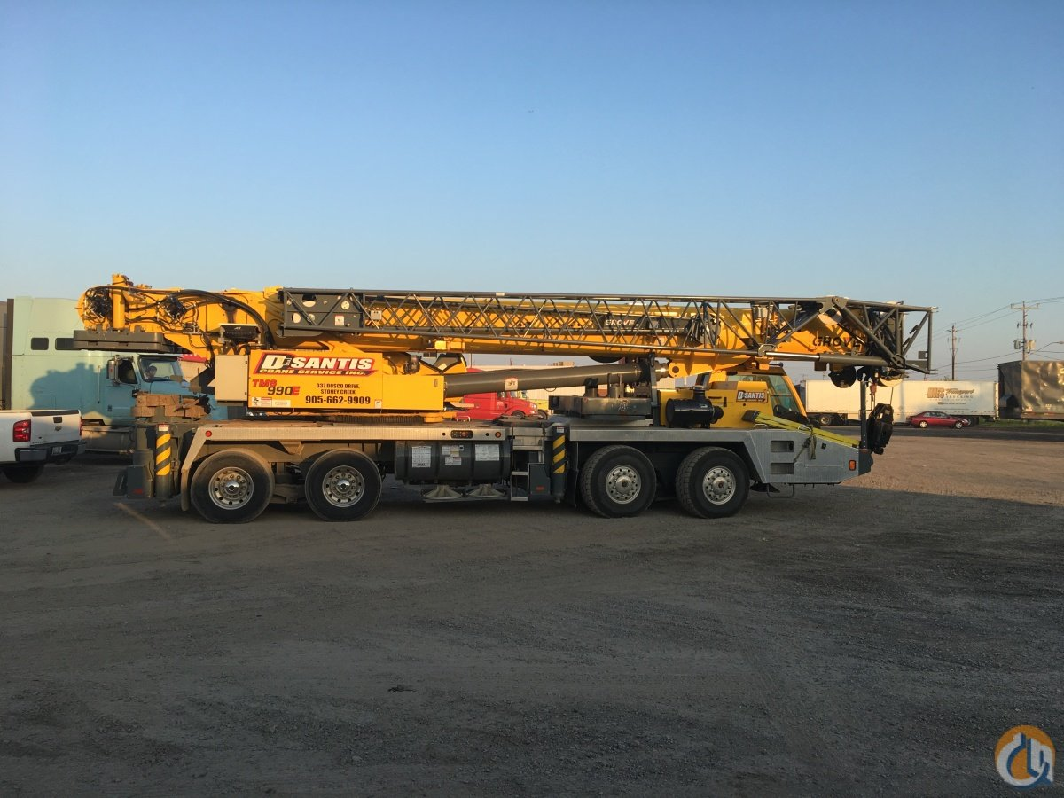 2013 Grove TMS 9000E Crane for Sale in Hamilton Ontario on CraneNetwork.com