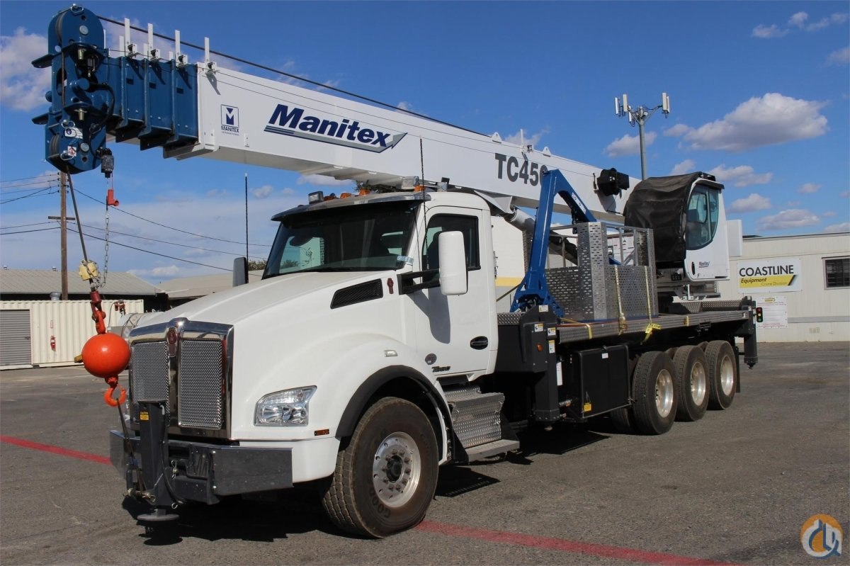 2016 MANITEX TC450 Crane for Sale or Rent in Sacramento California on CraneNetwork.com